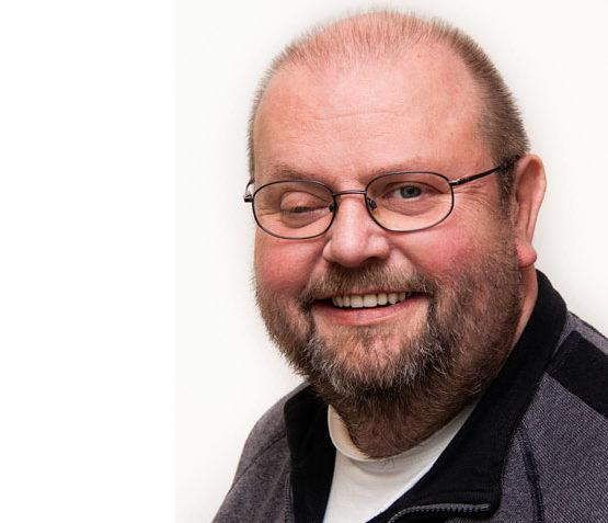 "Ansprechpartner bei den ""Heiligenfelder Geschichten"" Axel Lankenau."