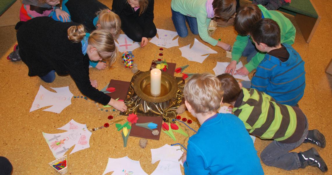 Erste Kinderkirche im neuen Jahr zur Jahreslosung