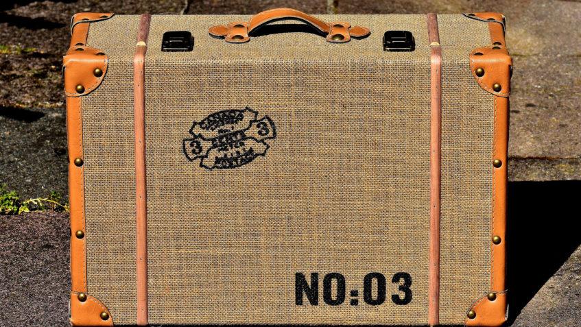 Symbolbild eines Reisekoffers.