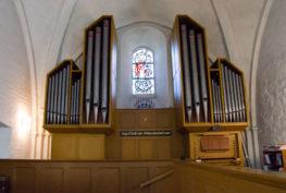 Die Orgel der Michaels-Kirche.