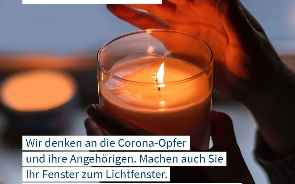 """Bundesweite Aktion """"Lichtfenster"""""""