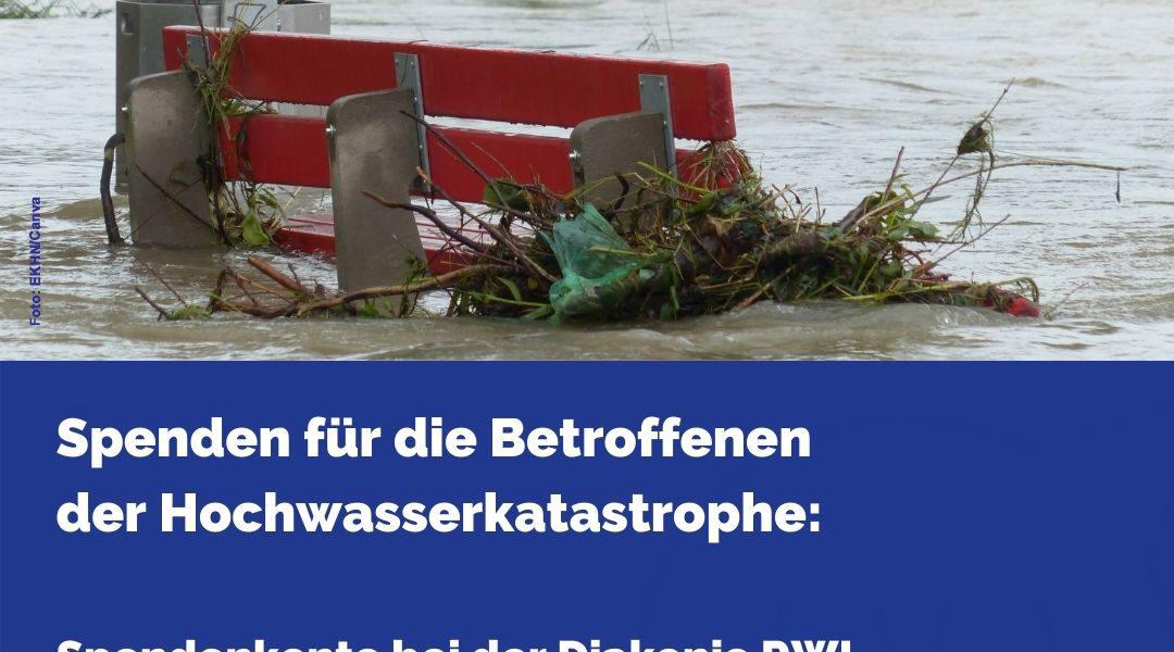 Spendenaufruf nach Unwetter-Katastrophe